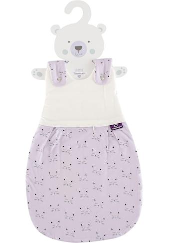 Träumeland Babyschlafsack »Außenschlafsack Schmusekatez«, (1 tlg.) kaufen