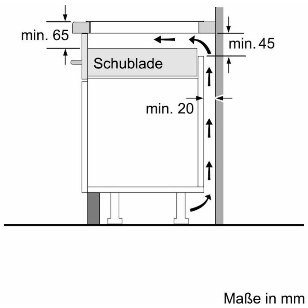 NEFF Induktions-Kochfeld von SCHOTT CERAN® »T36BB40N1«, T36BB40N1, mit TouchControl-Bedienung