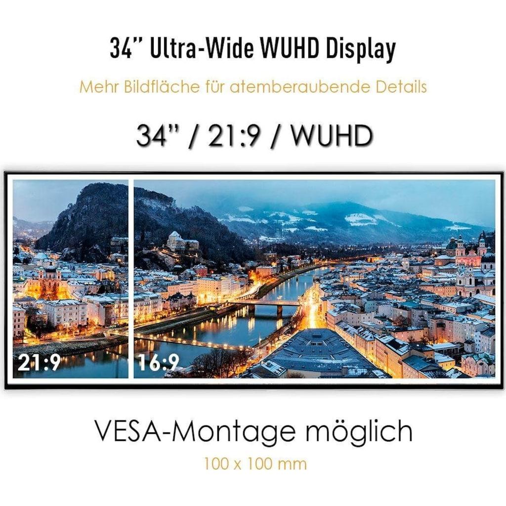 "MSI Gaming-LED-Monitor »Prestige PS341WU«, 86,36 cm/34 "", 5120 x 2160 px, 5 ms Reaktionszeit, 60 Hz"