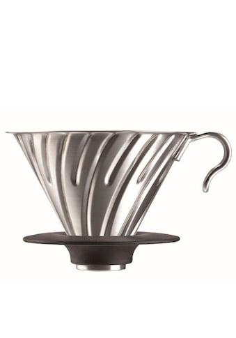 "Hario Handfilter V60 ""Metal Coffee Dripper"" kaufen"