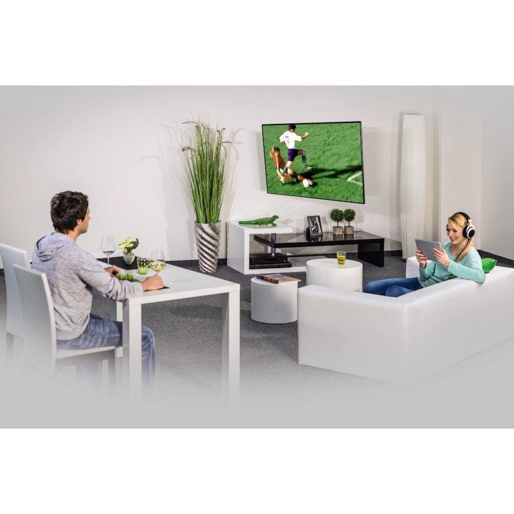 Hama TV-Wandhalterung FULLMOTION, 191cm (75),1 Arm Vollbeweglich »Wandhalter Schwarz«