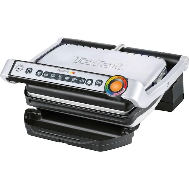 Tefal Kontaktgrill Optigrill GC705D, 2000 Watt