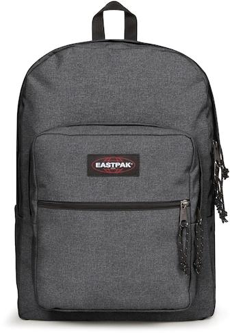 Eastpak Freizeitrucksack »PINNACLE L, Black Denim«, mit Laptopfach, enthält recyceltes... kaufen