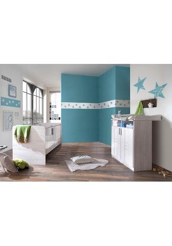 Babymöbel-Set »Pellworm«, (Spar-Set, 2 tlg.), Bett + Wickelkommode kaufen