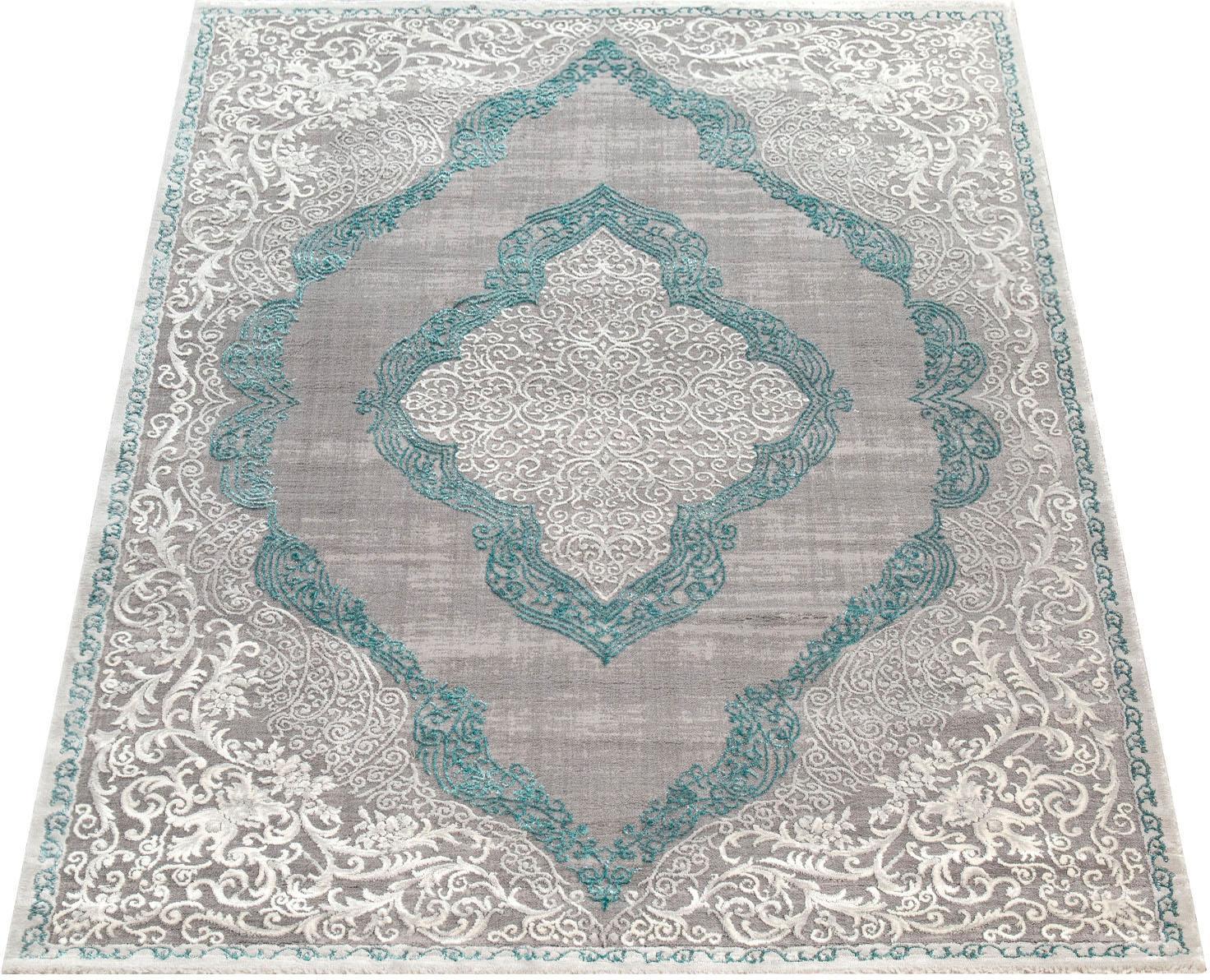 Teppich, »Elizabeth 052«, Paco Home, rechteckig, Höhe 16 mm, maschinell gewebt