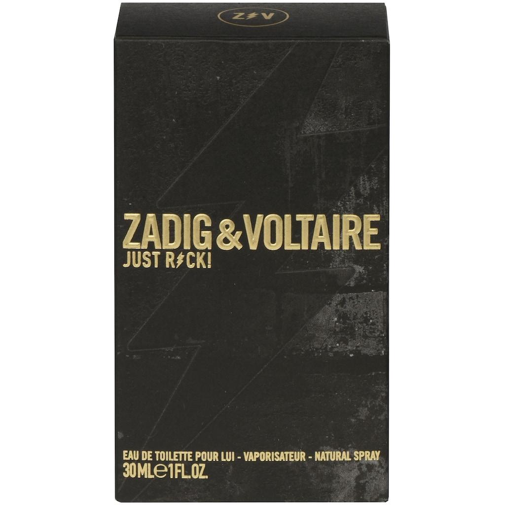 """ZADIG & VOLTAIRE Eau de Toilette """"Just Rock! Pour Lui"""""""