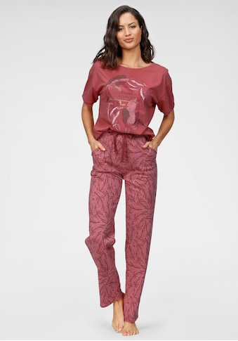 Triumph Pyjama, mit Blättermotiv kaufen