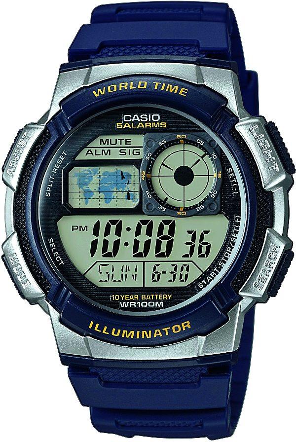 Casio Collection Chronograph »AE-1000W-2AVEF«   Uhren > Chronographen   Casio Collection