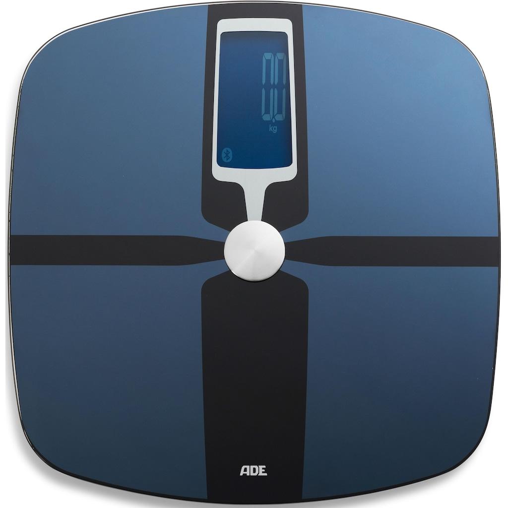ADE Körper-Analyse-Waage »BA 1600«, Bluetooth Personenwaage mit App
