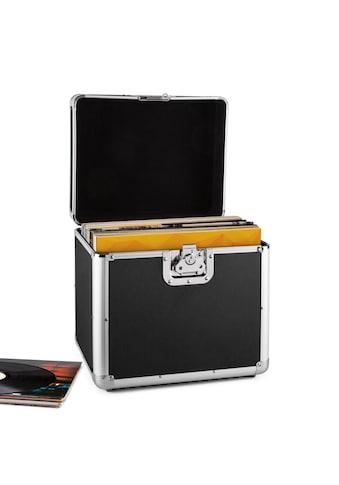 resident dj Aluminium Plattenkoffer Vinyl Case Flightcase 70 Platten »ZEITKAPSEL« kaufen