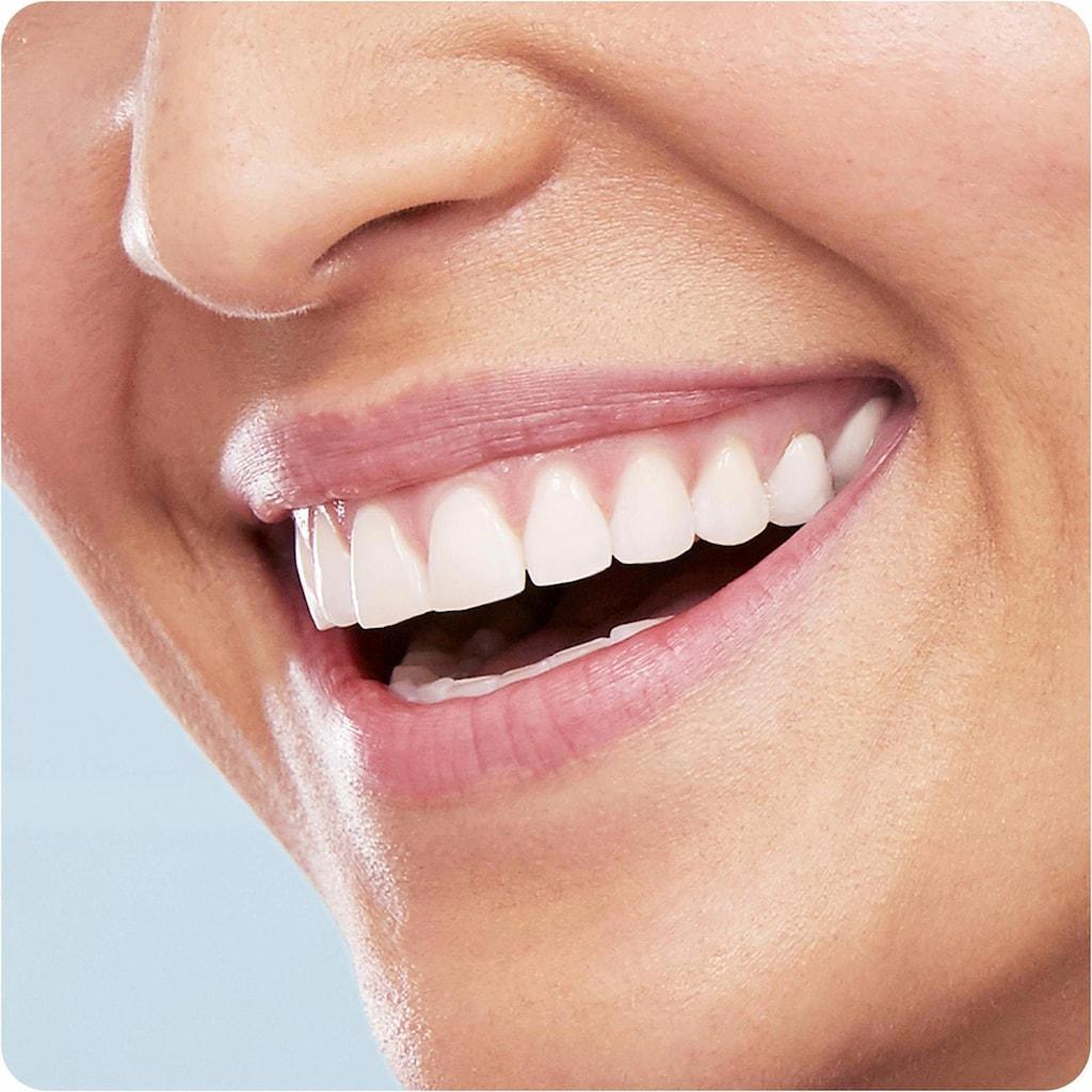 Oral B Elektrische Zahnbürste »Vitality 100 CrossAction Schwarz«, 1 St. Aufsteckbürsten