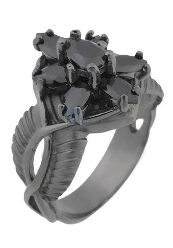 Der Herr der Ringe Fingerring »Dark Years Collection Arwens Abendstern  -  schwarz, 20002138« kaufen