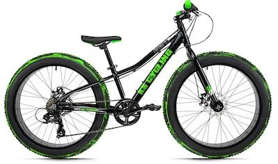 KS Cycling Fatbike »Crusher 6217«, 7 Gang, Shimano, Tourney Schaltwerk, Kettenschaltung kaufen