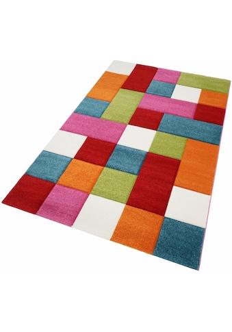 Teppich, »GENIL«, merinos, rechteckig, Höhe 13 mm, maschinell gewebt kaufen