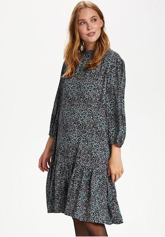 Saint Tropez Druckkleid, in dezentem Mille Fleur Design kaufen