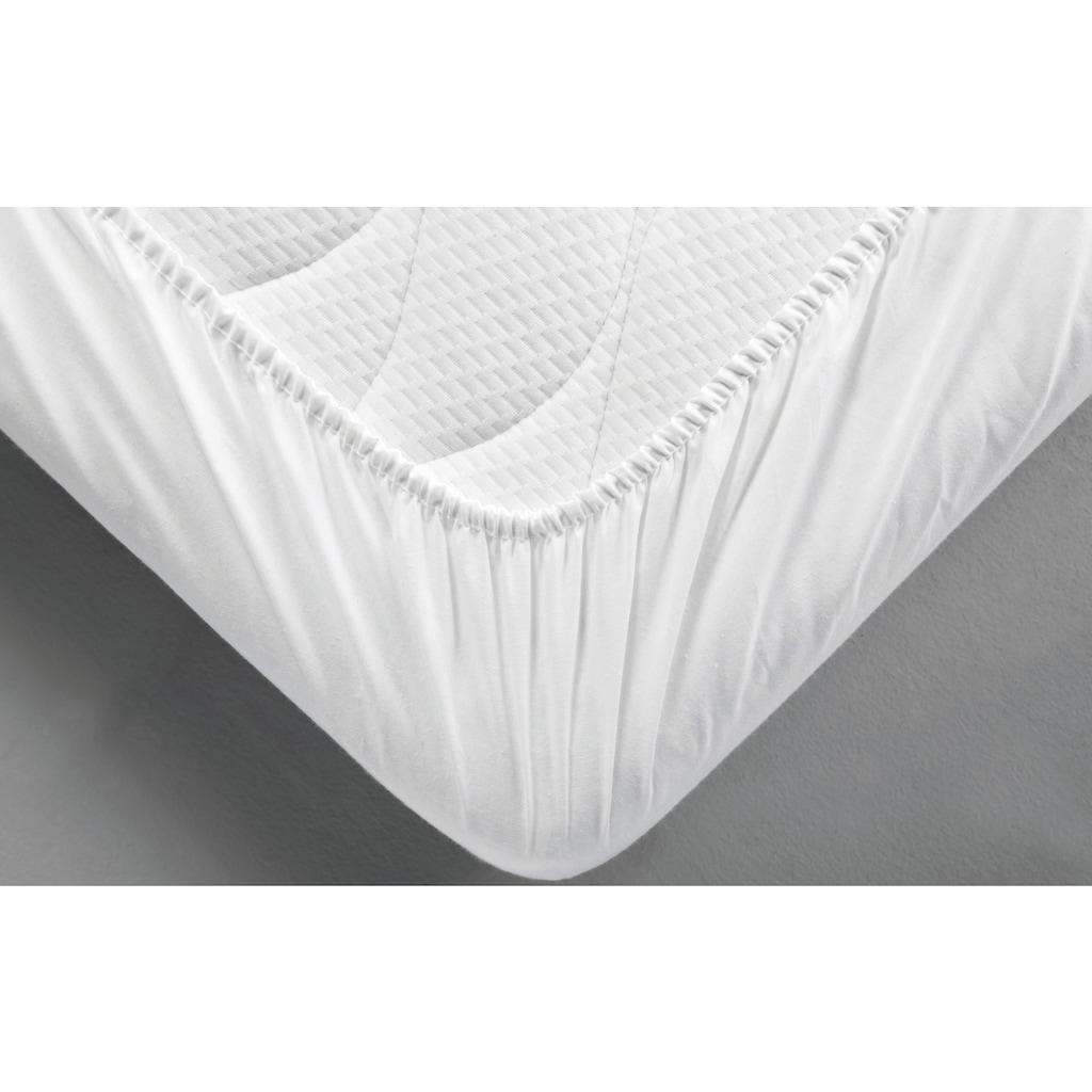 Dormisette Protect & Care Matratzenschutzbezug »Molton-Spannbettlaken«