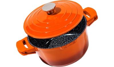 KING Schmortopf »Shine Orange«, Aluminiumguss, (1 tlg.), Induktion kaufen