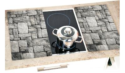 """KESPER for kitchen & home Schneide -  und Abdeckplatte """"Stein"""", ESG - Sicherheitsglas, (Set, 2 - tlg.) kaufen"""