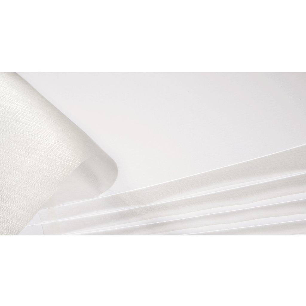 Hama Spiralalbum 28 x 24 cm, 50 weiße Seiten, Fotoalbum, grau