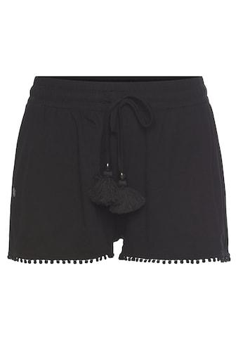 Ragwear Shorts »ANIKO«, mit Quasten und Zierperlen-Besatz kaufen