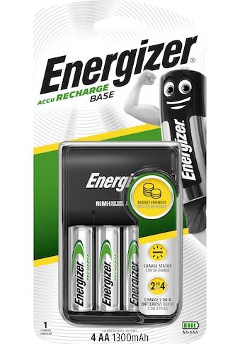 Energizer Batterie »Base Ladegerät inkl. 4x AA 1300 mAh«, 1,2 V kaufen