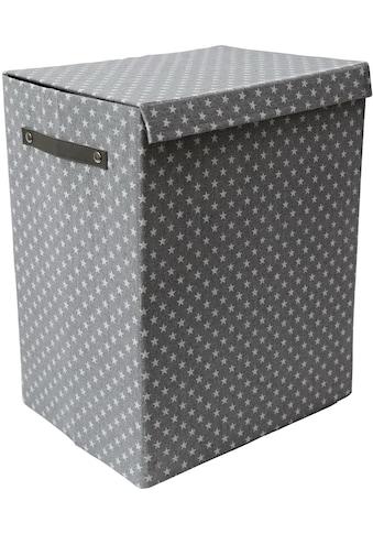 Franz Müller Flechtwaren Wäschebox »TexBox«, (1 St.), Höhe ca. 50 cm kaufen