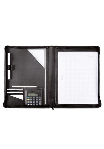 Alassio® Schreibmappe »DIN A4, Catana«, mit Taschenrechner kaufen