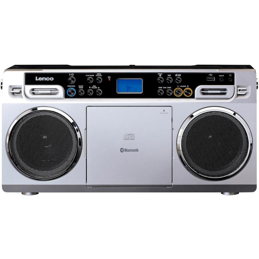 Lenco CD-Radiorecorder »SCD-580«, (Bluetooth FM-Tuner)