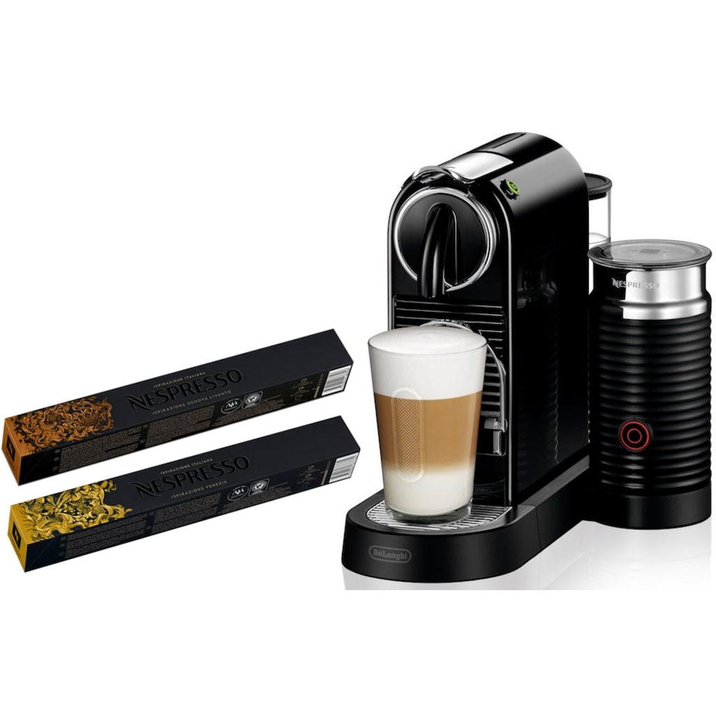Nespresso Kapselmaschine »NESPRESSO CITIZ EN 267.BAE«, mit Aeroccino Milchaufschäumer