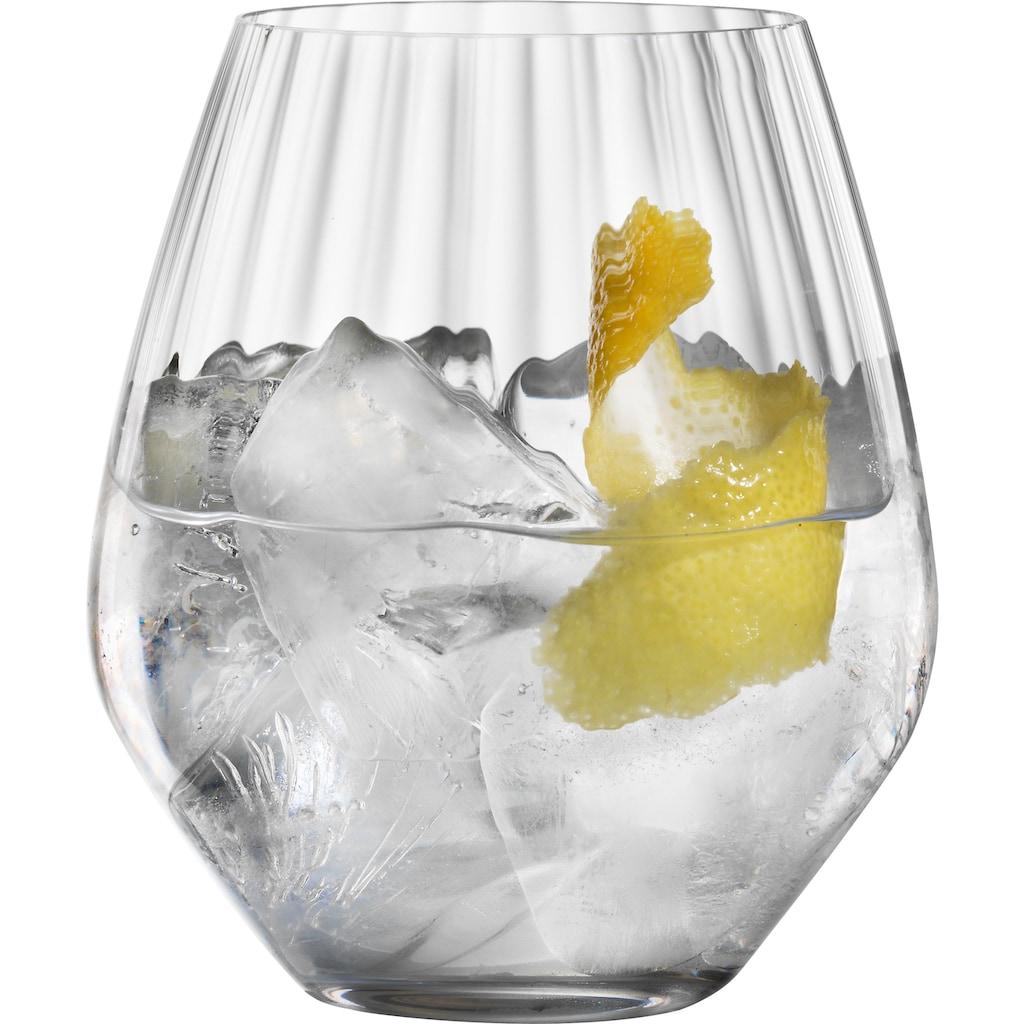 SPIEGELAU Cocktailglas »Life Style«, (Set, 4 tlg.), Gin Tonic, Kristallglas, 625 ml