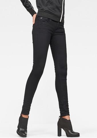 G - Star RAW Skinny - fit - Jeans »Lynn D - Mid Waist Super Skinny« kaufen