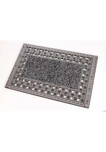 CarFashion Fußmatte »GC Clean Rusty«, rechteckig, 8 mm Höhe, Schmutzfangmatte, In- und... kaufen