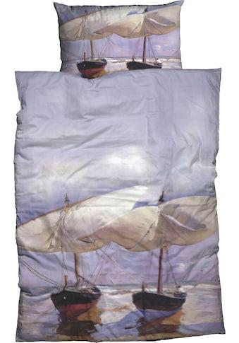 Goebel Bettwäsche »Sorolla Beach Boats«, Design eines des bedeutendsten spanischen... kaufen