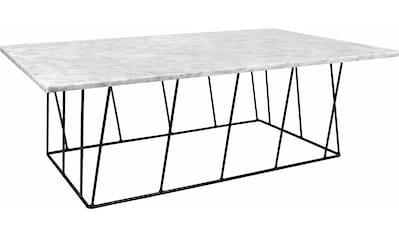 TemaHome Couchtisch »Helix«, aus einer schönen Marmor Tischplatte und einem schönen... kaufen