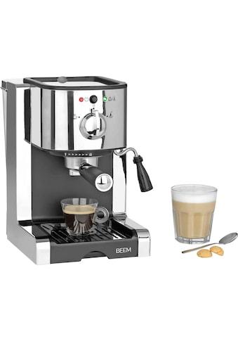 BEEM Siebträgermaschine »Espresso-Perfect«, Permanentfilter, inkl. Kaffeekapsel Einsatz kaufen