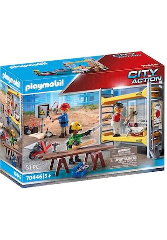 Playmobil® Konstruktions-Spielset »Baugerüst mit Handwerkern (70446), City Action«,... kaufen