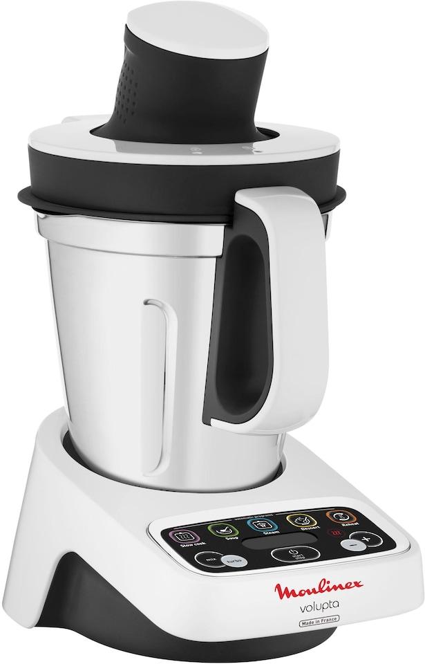 Moulinex Küchenmaschine mit Kochfunktion HF4041 Volupta, 1000 Watt ...