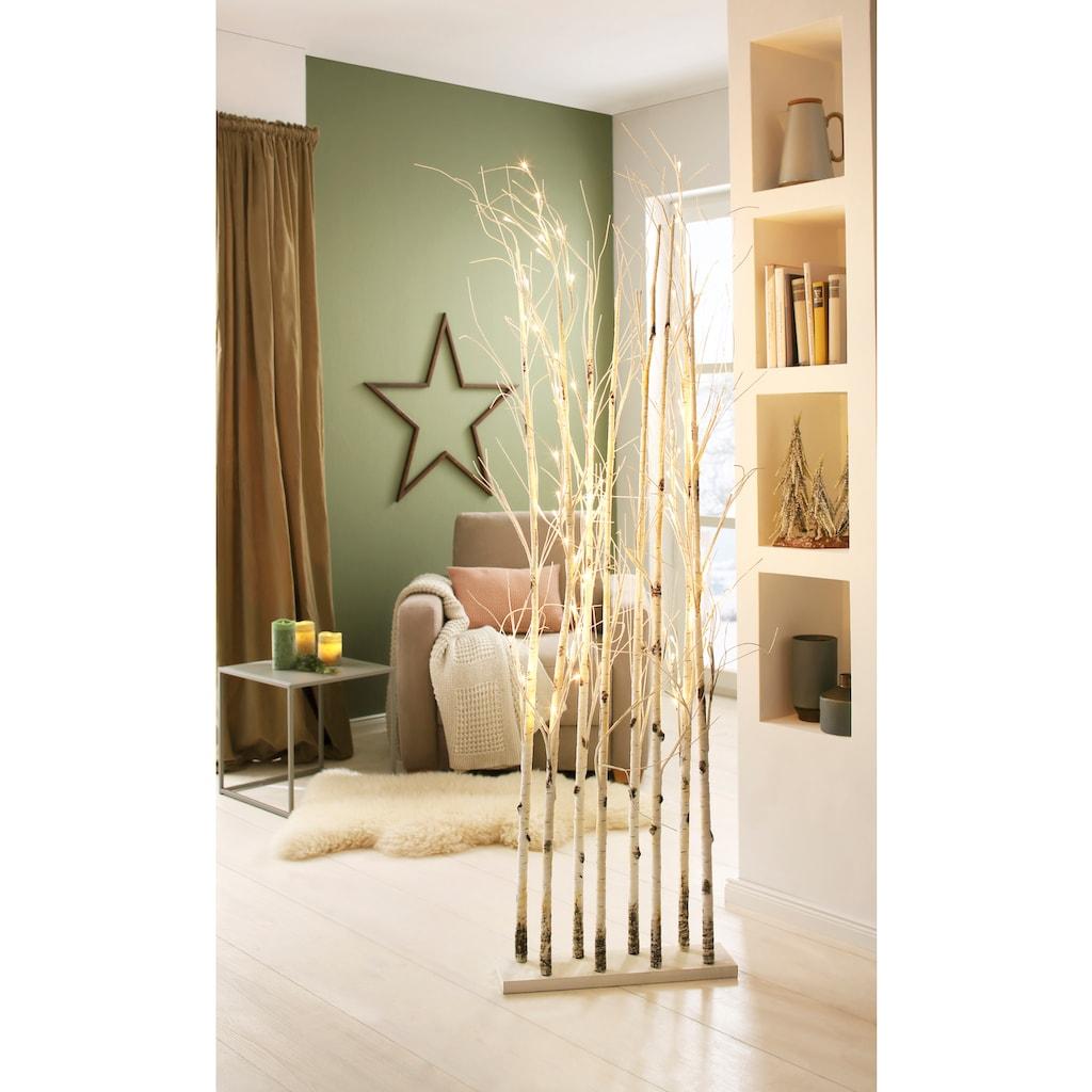 LED Baum »Divid«, Warmweiß, Raumteiler mit zahlreichen warmweißen LEDs