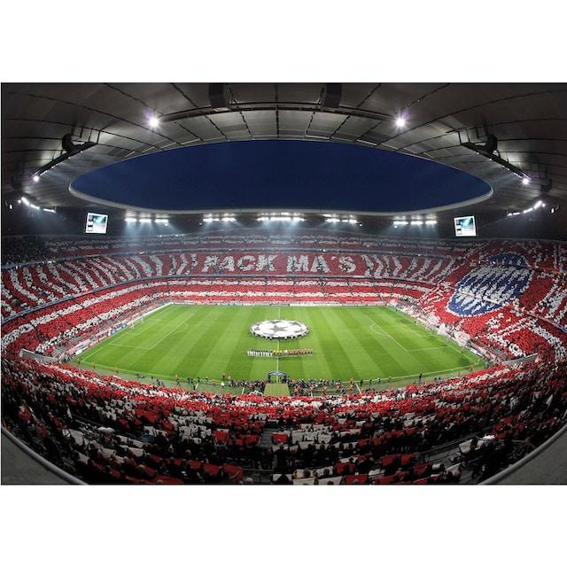 Fototapete »Bayern München Stadion Choreo Pack Mas«,