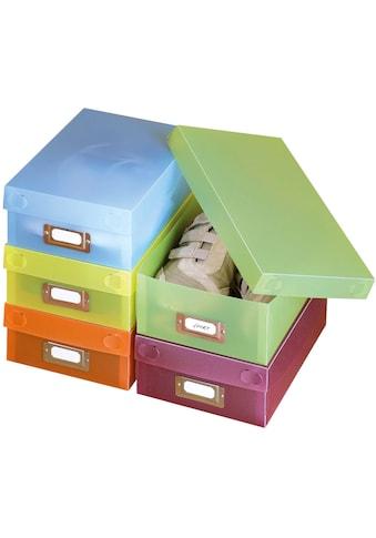 WENKO Schuhbox »Multi-Boxen«, (10 St.), Polypropylen kaufen