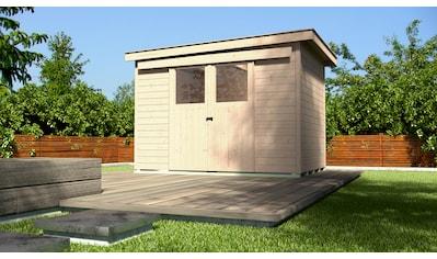 WEKA Gartenhaus »Gr. 6«, BxT: 319x338 cm, inkl. Fußboden kaufen