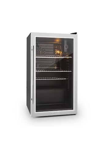 Klarstein Kühlschrank 80 Liter Klasse A+ Glastür Edelstahl kaufen
