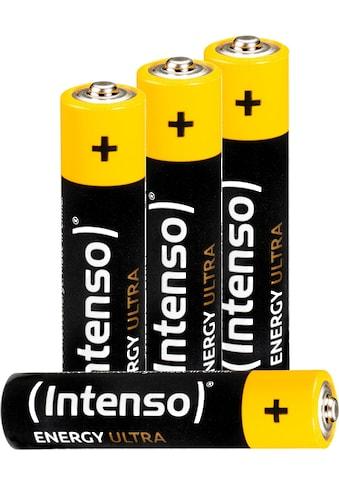Intenso »Energy Ultra AAA LR03« Batterie (4 Stück) kaufen