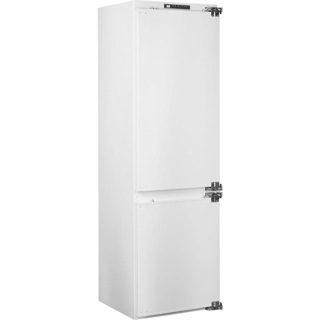 Sharp Einbaukühlgefrierkombination »SJ-B2237E00X-EU«, SJ-B2237E00X-EU, 177 cm hoch, 54 cm breit