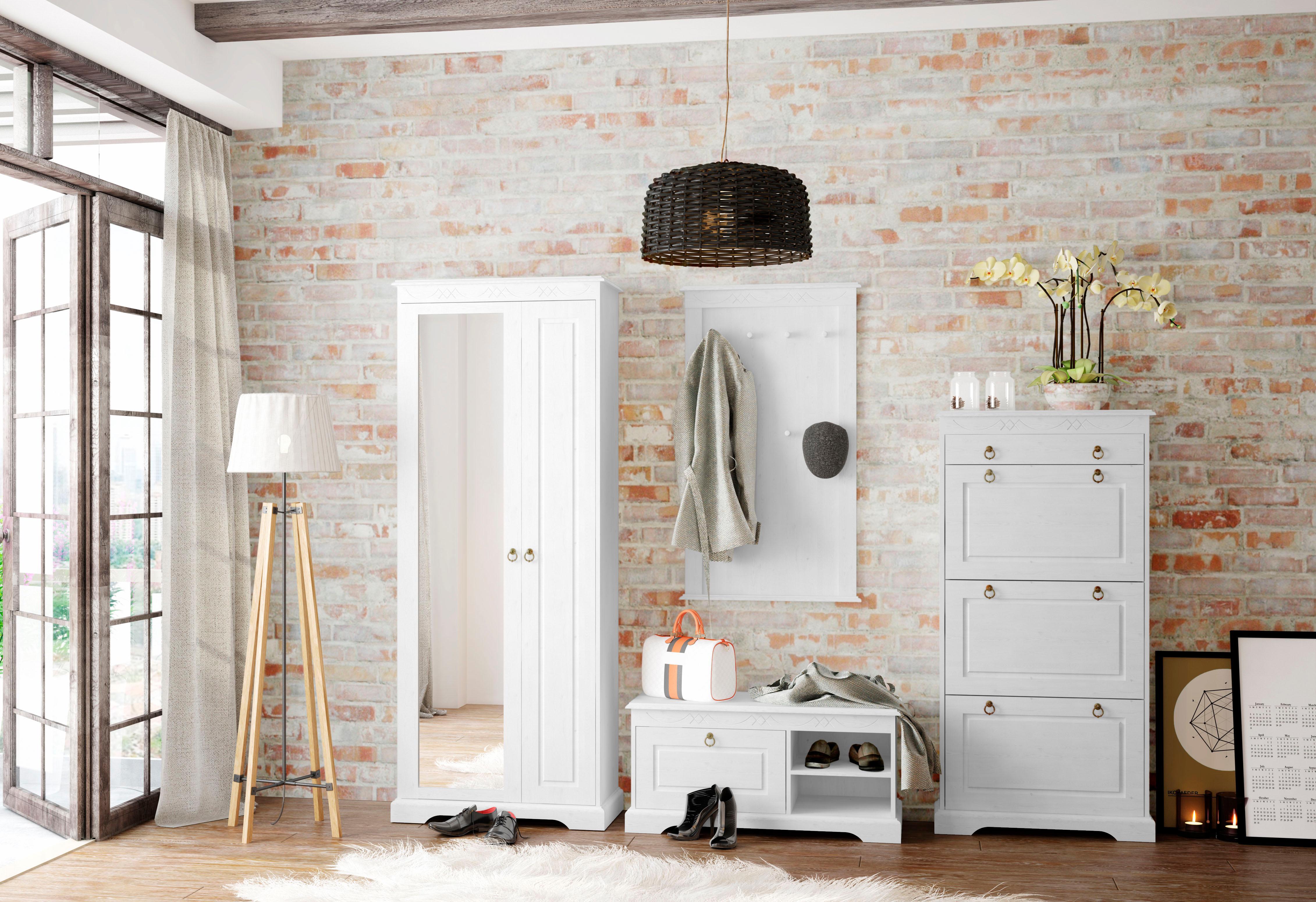 Home affaire Garderoben-Set »Sofia«, (Set, 4 tlg.), aus massiver Kiefer günstig online kaufen