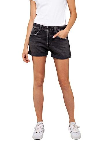 Replay Jeansshorts »ANYTA«, mit dezenten Abriebstellen und Umschlagsaum kaufen