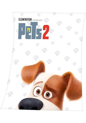 Kinderdecke »Pets 2«, mit tollem Pets 2 Motiv und Schriftzug kaufen