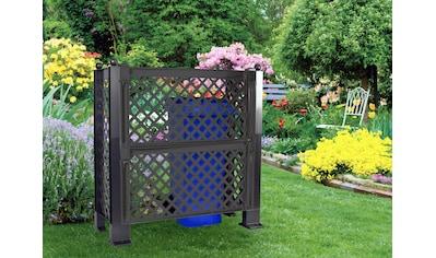 KHW Spalier, Sichtschutz für Mülltonen, BxTxH: 110x119x49 cm kaufen