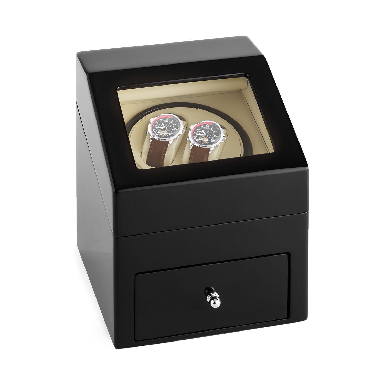 Klarstein Uhrenbeweger Uhrenvitrine Uhrendreher Watch Winder 2 Uhren »Monte Carlo«   Uhren > Uhrenbeweger   KLARSTEIN