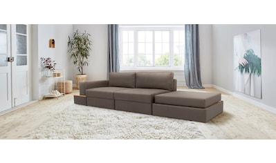 170QM Sofa »Familienzeit«, Modulsofa, Module auch einzeln, unendlich erweiterbar, flexibel stellbar kaufen